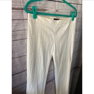 Kenneth Cole White snakeskin size 12 pants
